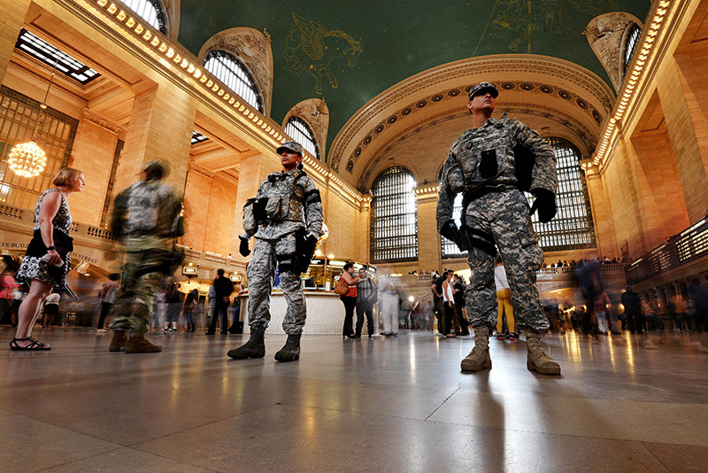 Grand Central Station. Photo credit SSG Christopher S. Muncy, NYANG