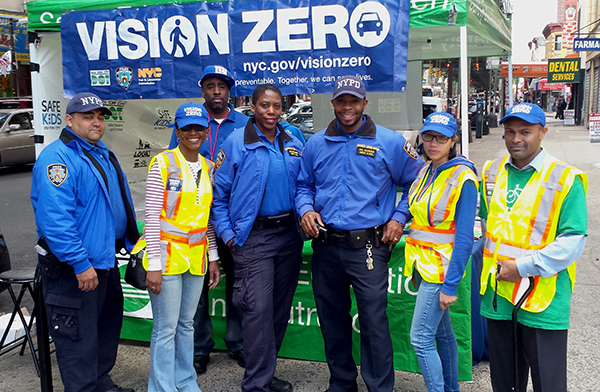 Vision Zero Outreach Street Team