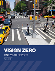 Download the Vision Zero 1 Year Report
