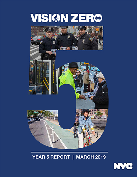 Download the Vision Zero Year Five Report