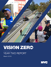 Download the Vision Zero Year Two Report