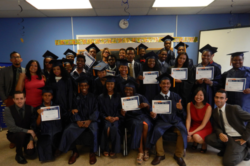 Young Adult Internship June 2014 Graduation