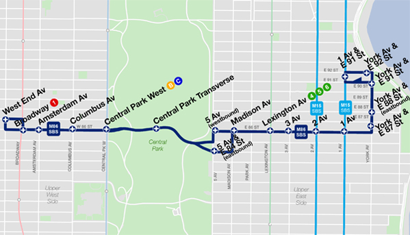 Bus Rapid Transit 86th Street Select Bus Service