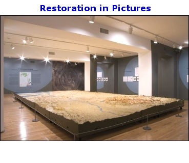 Restoration Of The Relief Map Of The New York City Water Supply System