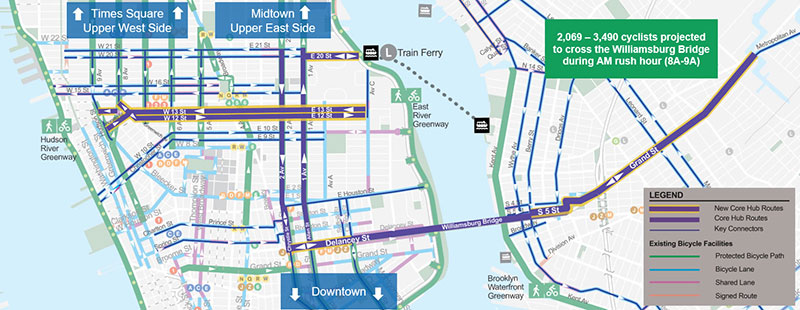 New York City Navigating Subway Map.Plans For L Train Tunnel Closure