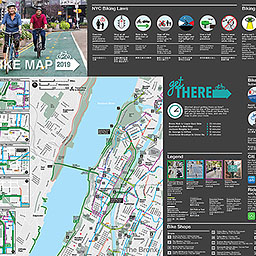 NYC DOT - Bicycle Maps Queens Bike Map on