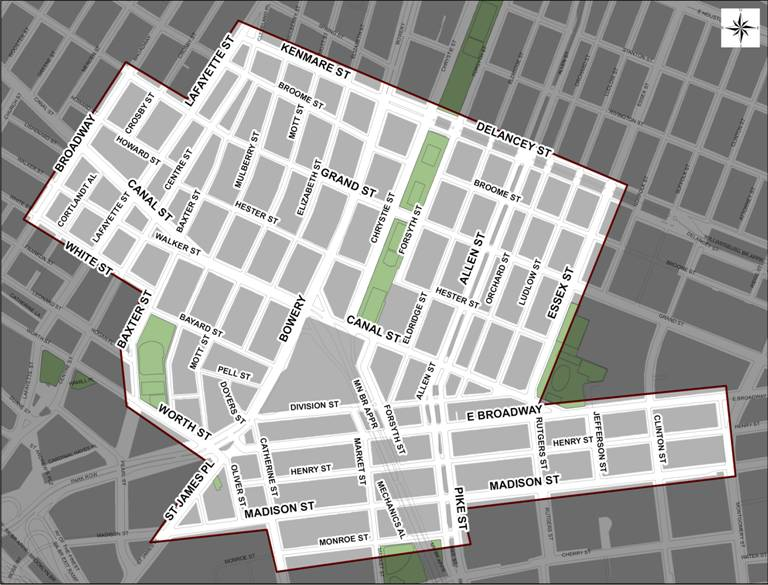 Nyc Dot Press Releases Kickoff Of Chinatown Curbside Parking Study