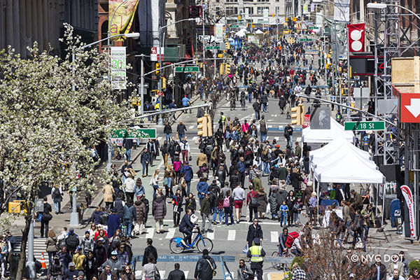 Summer Streets - Car Free Earth Day (Broadway)